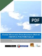 Euskal Ekonomia Demokraziaren Bidetik. TRESNA POLITIKOAK (I)