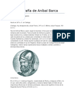 Bibliografía de Aníbal Barca