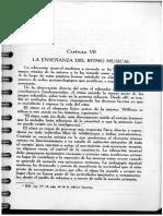 Lectura 5 y 6 La Enseñanza Del Ritmo Musical
