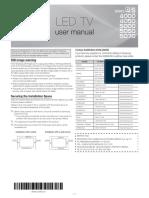 Samsung Un32eh5000 Led Hdtv Manual