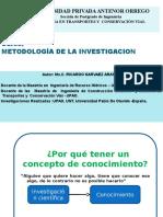 Sesion 1 Metodologia de La Investigacion