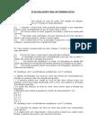 Exercícios Da Avaliação Final de Criminalistica Fixaçao