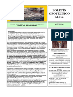 Casos Legales en Geotecnia en El Peru