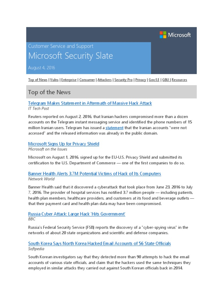 Microsoft security slate august 4 2016 whats app privacy 1betcityfo Choice Image