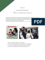 English language examination - Reading_Free time activity