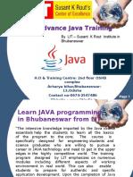 Java training in Bhubanes