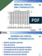 Estabilidad Consistencia Convergencia Diferencias Finitas