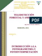 Clase de Teledeteccion Forestal y Ambiental-2012-2