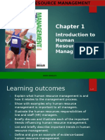 Chapter 1 Introduction to HRM