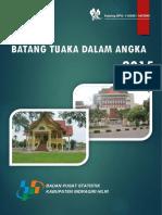 Kecamatan Batang Tuaka Dalam Angka Tahun 2015