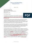 US Congress TTIP Letter 3-Oct-2016
