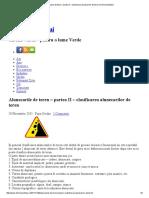 Alunecarile de Teren – Partea II – Clasificarea Alunecarilor de Teren _ Chimia Mediului