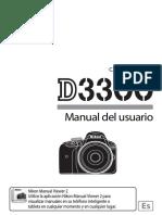 Manual Cámara Nilon D3300