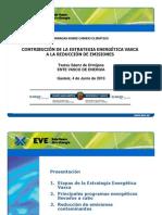 CONTRIBUCIÓN DE LA ESTRATEGIA ENERGÉTICA VASCA  (EVE)
