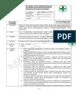 1.2.5 Ep 3 Sop Kajian Dan Tindak Lanjut Terhadap Masalah-masalah Spesifik Dalam Penyelenggaraan Program Dan Pelayanan Puskesmas