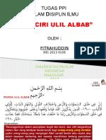 3.Ciri-ciri Ulil Albab