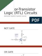 Resistor-Transistor Logic (RTL) Circuits