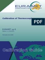EURAMET Cg-8 v 2 1 Calibration of Thermocouples