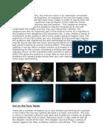 Brief Trailer Analysis