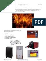 PCPI Tema 2 Combustion
