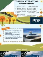 Kapita Selekta - Tourism Attraction Management