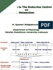 Intro to the Endocrine Control Revised 17 Juni 2011