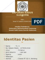 LAPORAN KASUS GLAUKOMA