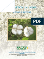 2007 Bt Cotton in India