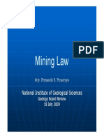 Mining Law Review 2009 [Compatibility Mode]