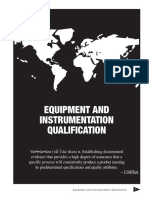 Equipment and Instrument Qualification