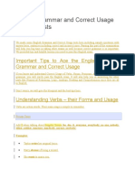 English Grammar and Correct Usage Sample Tests1