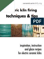 Electric Kiln Firing Tech