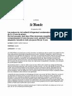 P. Robert-Diard, Les auteurs du viol collectif d'Argenteuil condamnés à des peines allant de 5 à 12 ans de prison (2002)