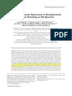 Altarelli Et Al (2014) Dyslexia and Planun Temporal