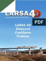 LARSA4D_TrainingManual_BalancedCantilever