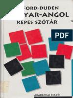 Oxford-Duden Magyar-Angol Képes Szótár 2d22d304b9