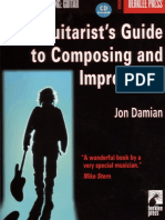 Jon Damian The Guitarist`s Guide to Composing and Improvising  2001
