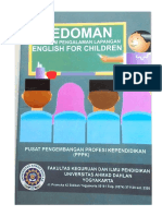 Pedoman PPL English for Children