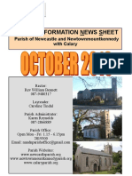 Parish Information Newsletter (PINS) October 2016 |The Parish of Newcastle & Newtownmountkennedy with Calary