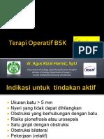 BSK Terapi Operatif BSK