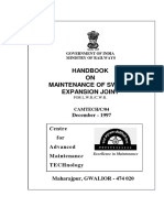 Handbook on Maintenance of Switch Expansion Joint(3)