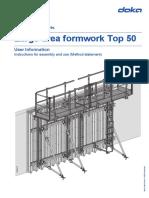 Large-Area Formwork Top 50