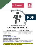 Poster Cp Miquel Porcel 2016