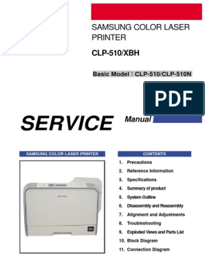 Samsung CLP-510 Series - Service Manual | Electrostatic