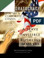 Corporatocracy - You Are a Corporate Citizen, A Slave