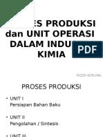 Unit Proses Dan Proses Kimia