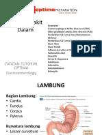 Ilmu Penyakit Dalam Gastroenterology