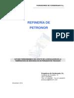Estudio Termodinamico Descarga Purgador de Traceado