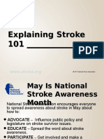 Explaining Stroke