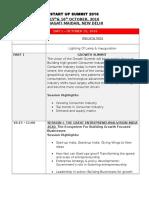 Startup Summit Agenda - FI 2016